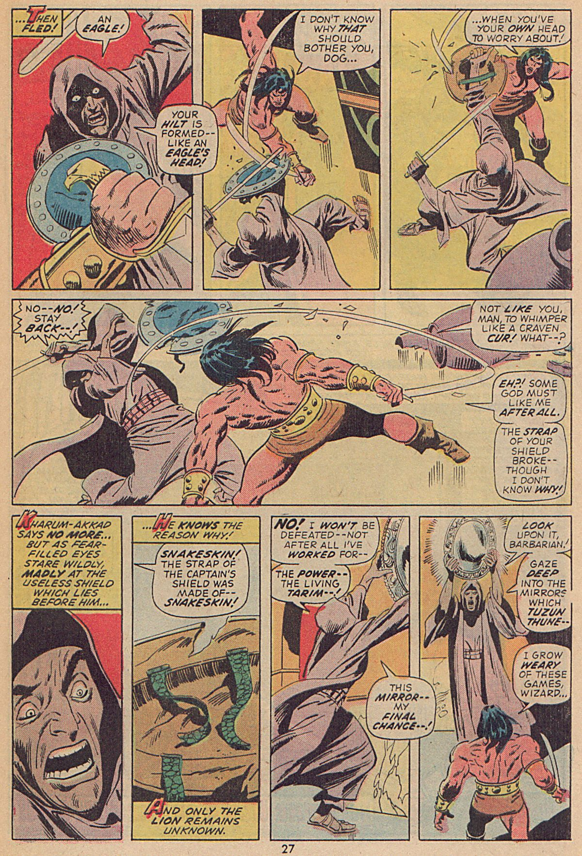 Conan the Barbarian (1970) Issue #25 #37 - English 20