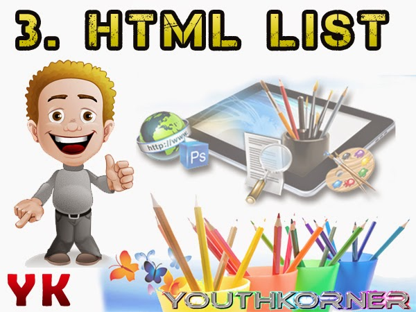 3. html List education.youthkorner