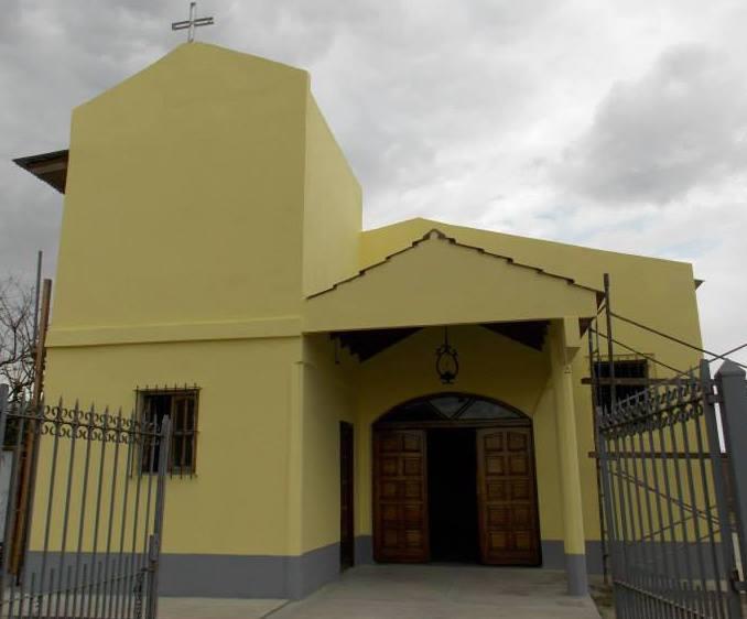Capilla Nuestro Señor de los Milagros de Mailín - Florencio Varela - Pcia de Buenos Aires