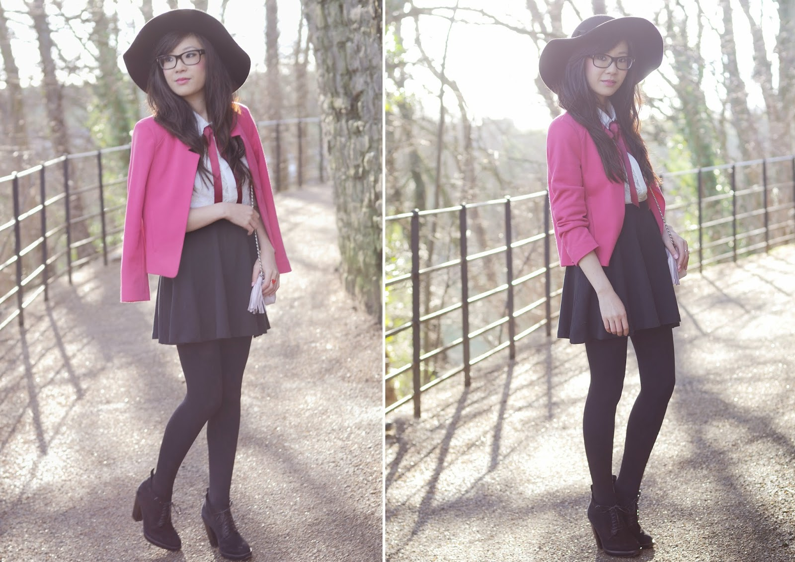 What to wear pink jacket with, how to wear pink