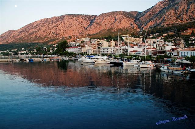 Αστακός: Τα χρώματα του πρωινού (φωτό)