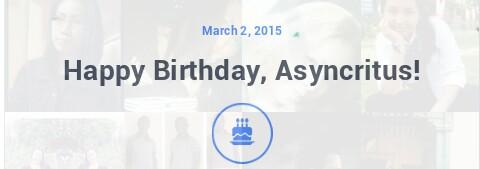 My Birthday Insight