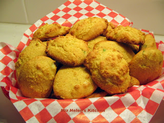 Baked Hush Puppies at Miz Helen's Country Cottage