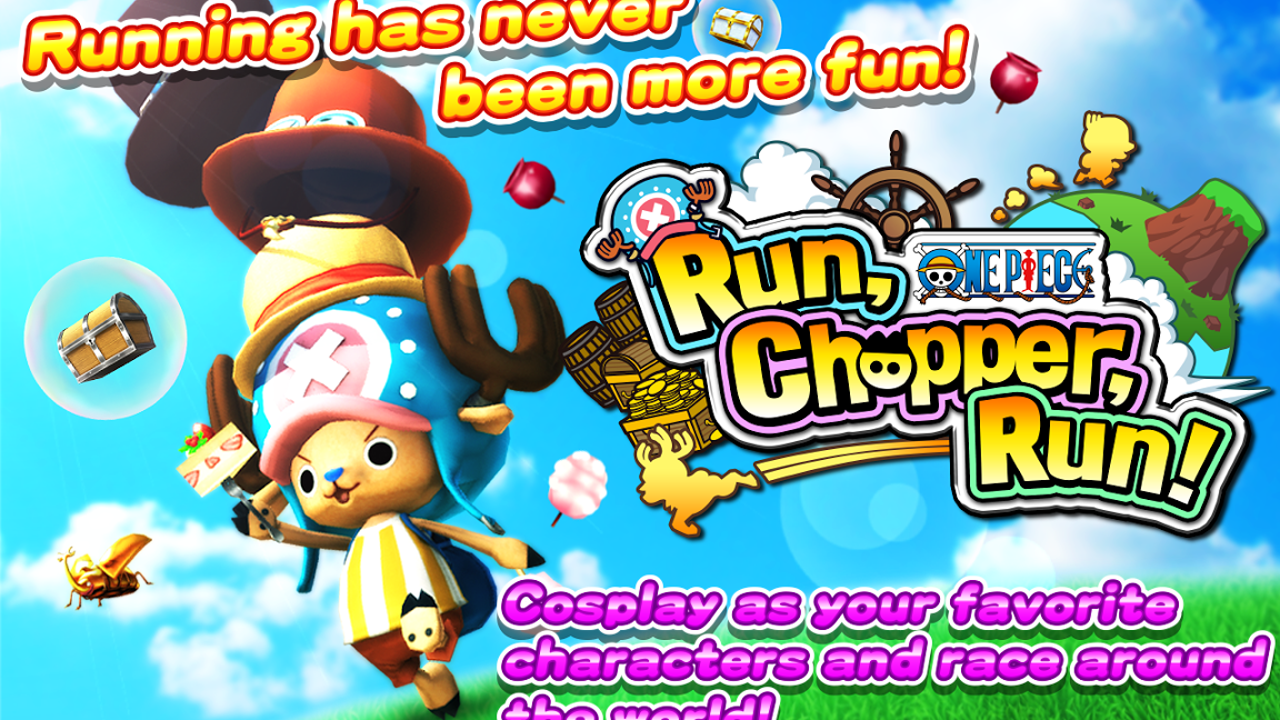 ONE PIECE Run, Chopper, Run! Gameplay IOS / Android