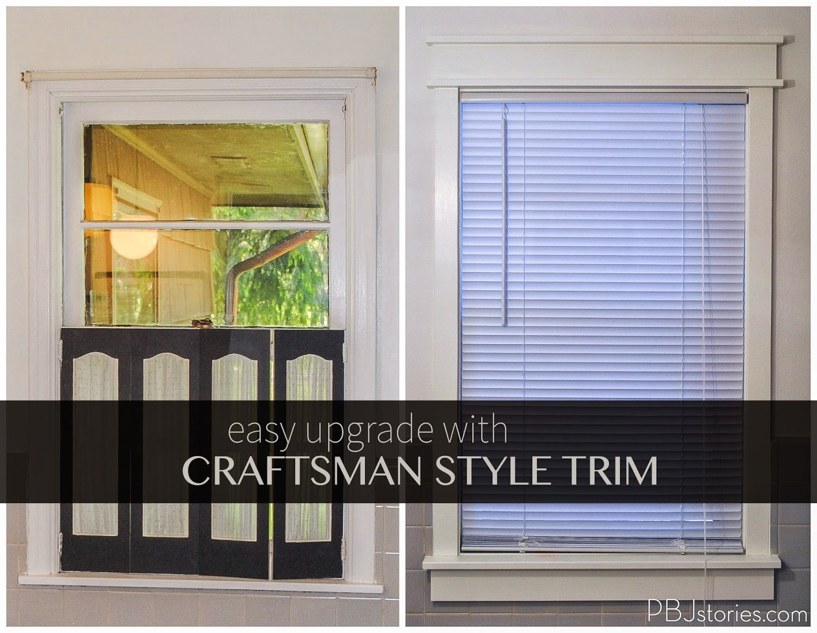 Craftsman Window Trim Pbjstories Updating Old Trim And Casings To Craftsman Style Pbjreno
