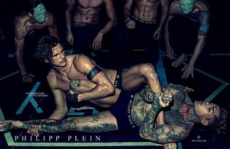 Philipp Plein's SS14 Underwear Campaign by Steven Klein