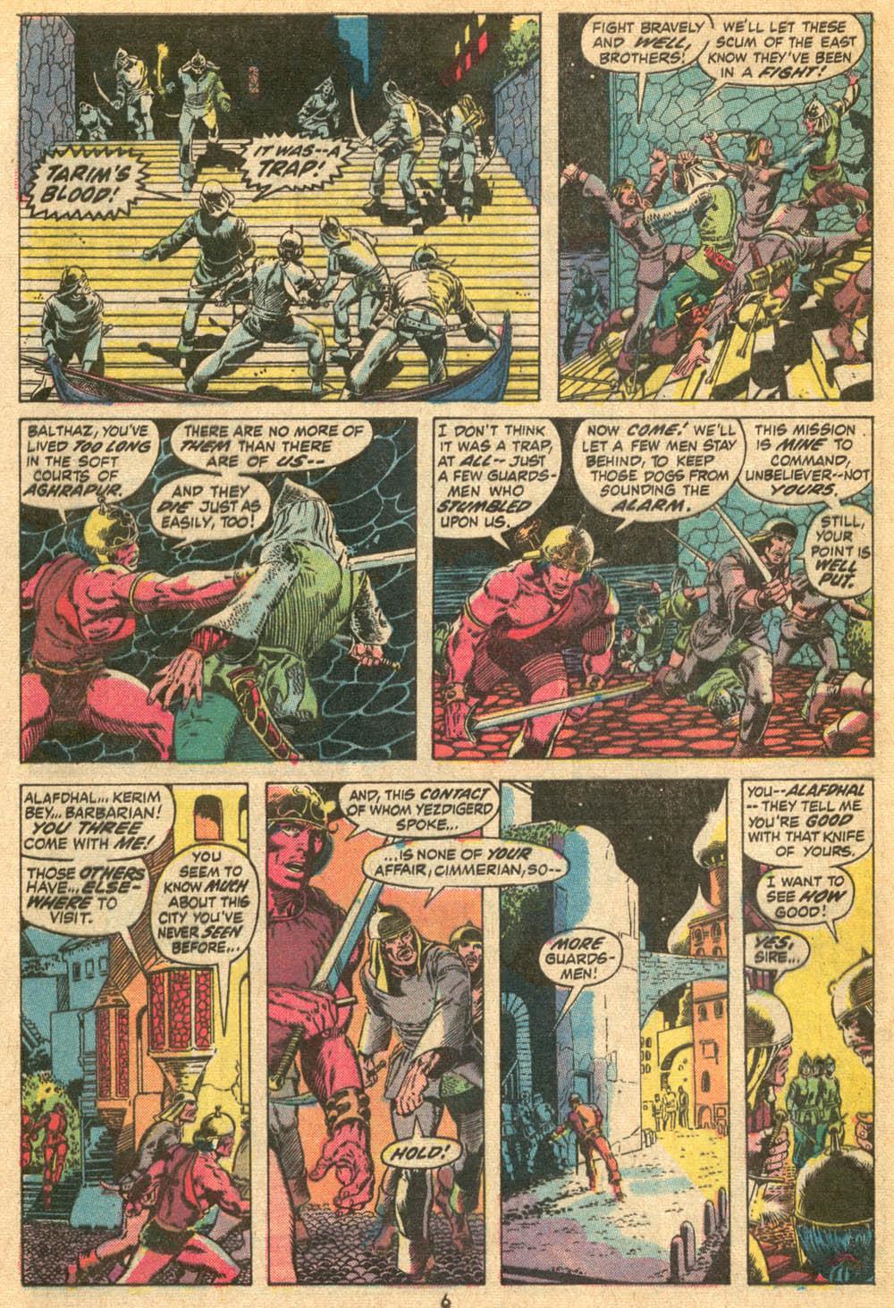 Conan the Barbarian (1970) Issue #20 #32 - English 6