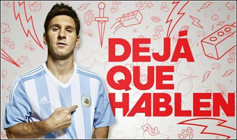 Argentina Copa America 2015-2016 Adidas Jersey