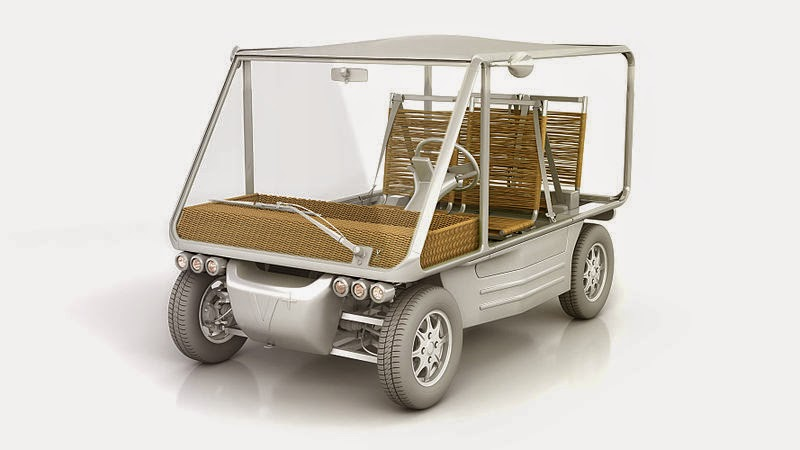 Volteis Electric Car by Philippe Starck