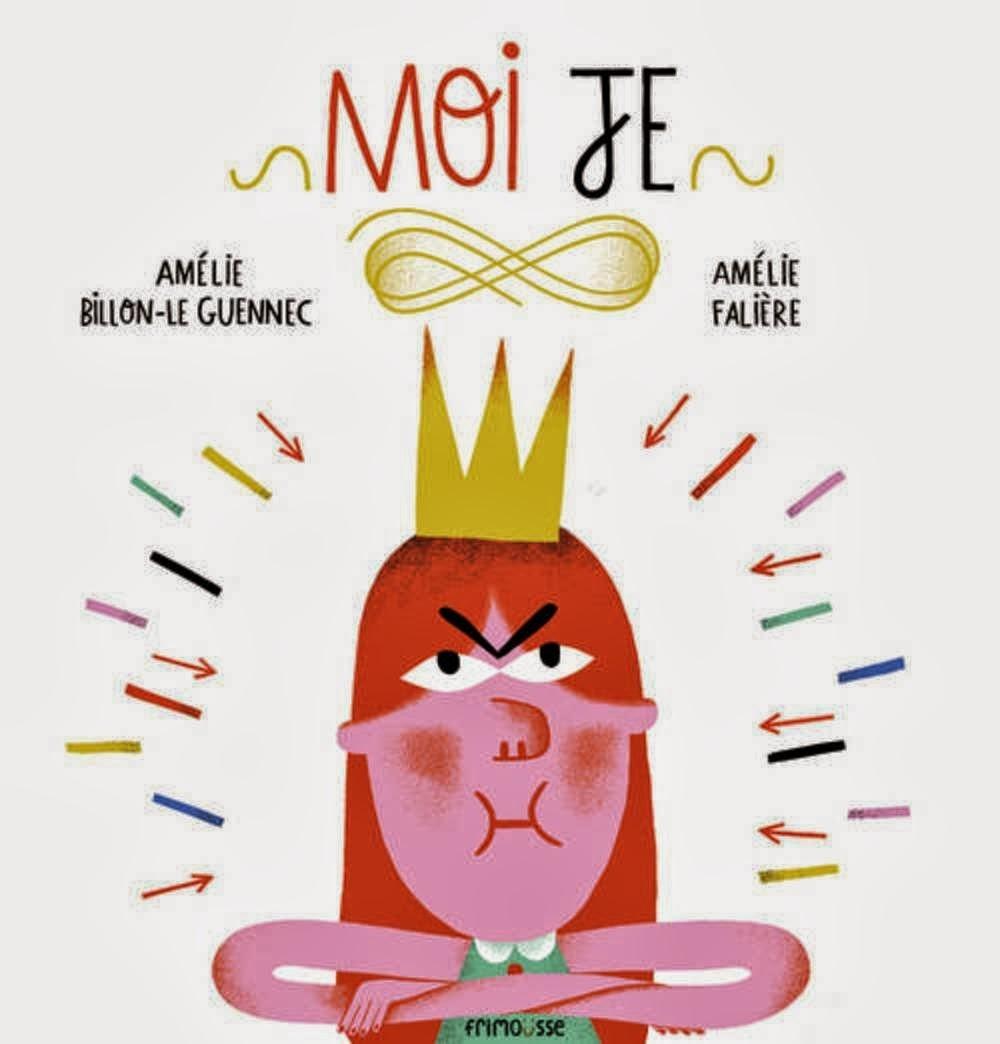 MOI JE, éditions Frimousse, illustré par Amélie Falière!