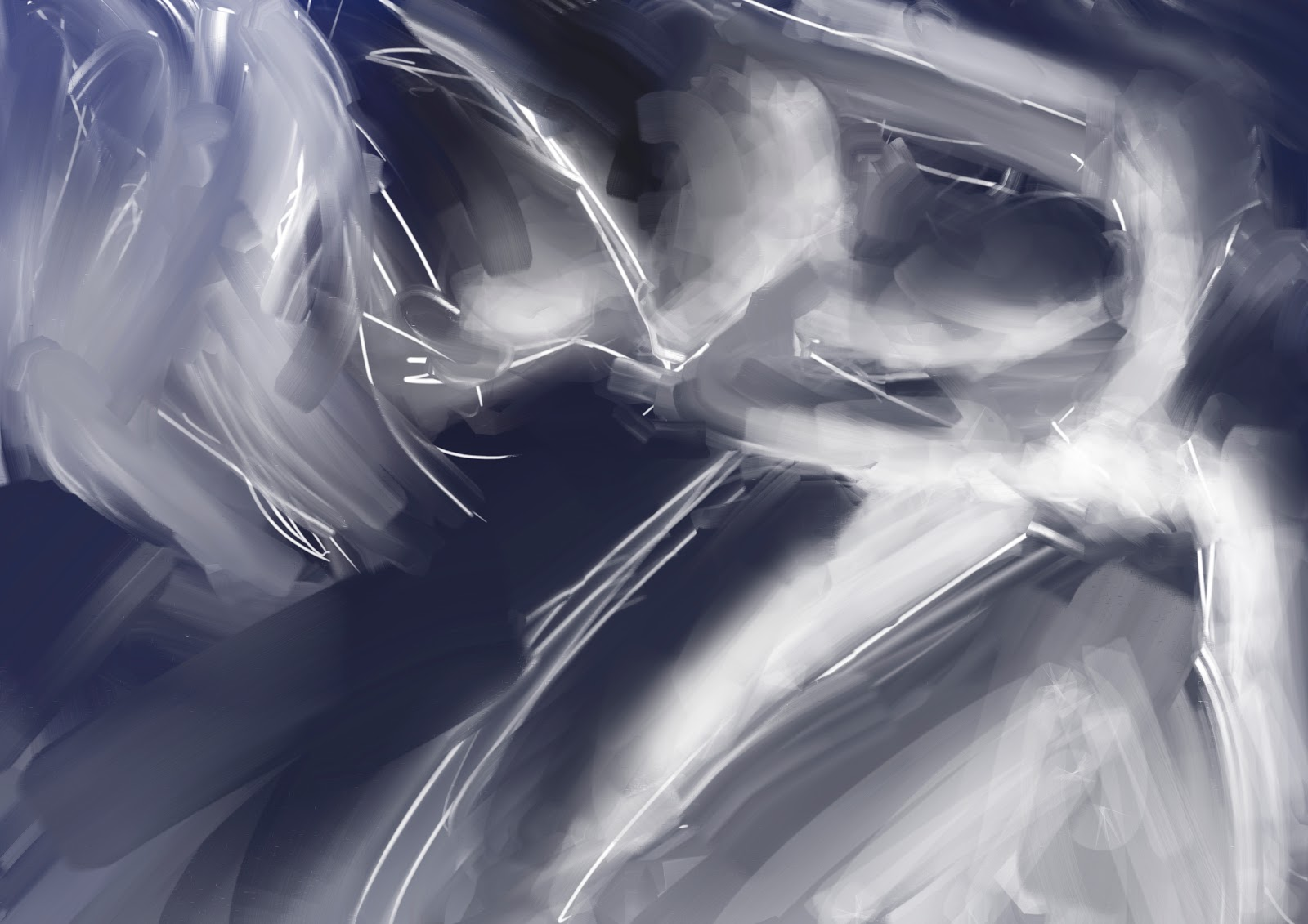 Croquis  / speed painting Womatouch2