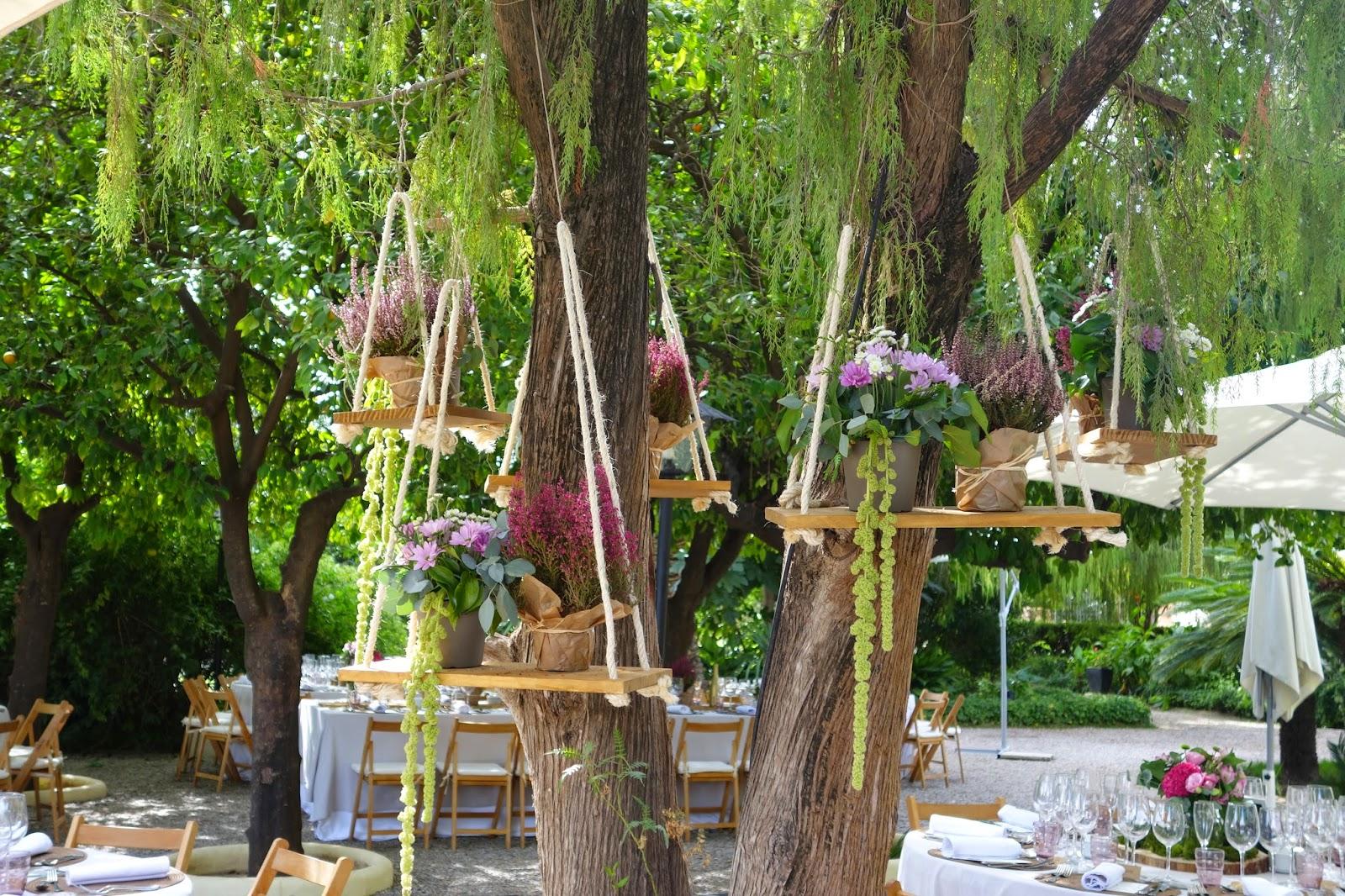 Decoración columpios bodas Valencia