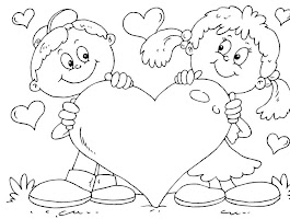 I Love You Heart Coloring Pages