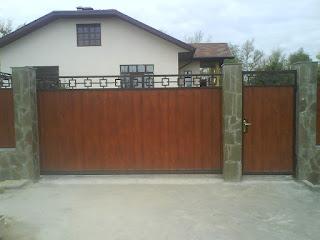 Автоматические откатные ворота. Фото 2