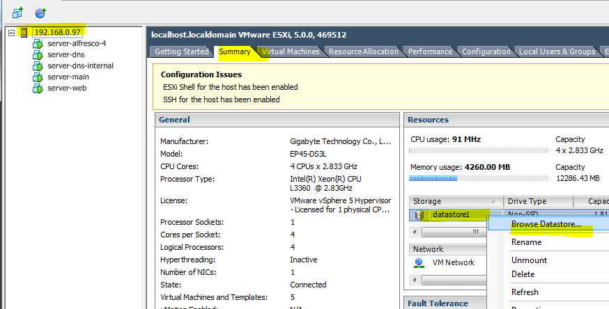 vmware vsphere client version 5.0 download