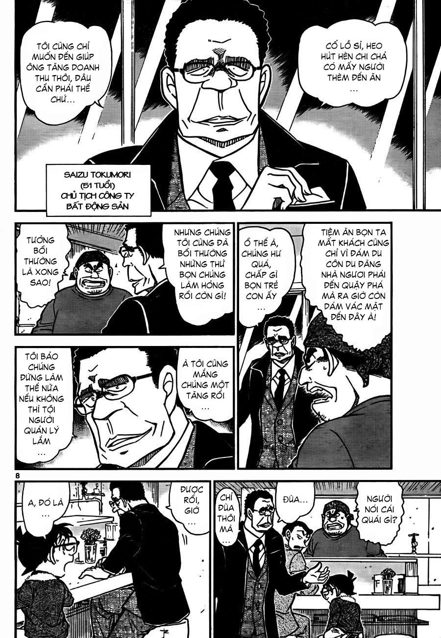 Detective Conan - Thám Tử Lừng Danh Conan chap 765 page 9 - IZTruyenTranh.com
