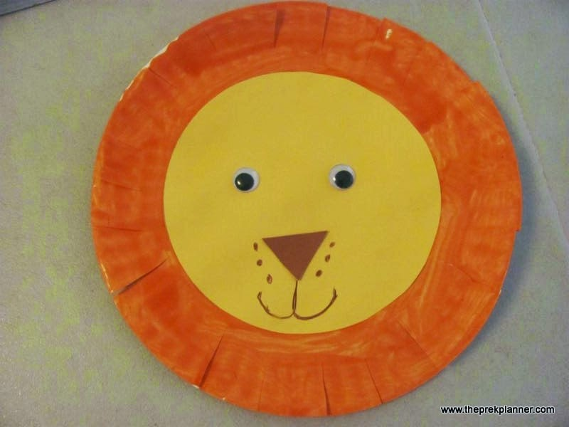 Crafts With Paper Plates And Cotton Balls