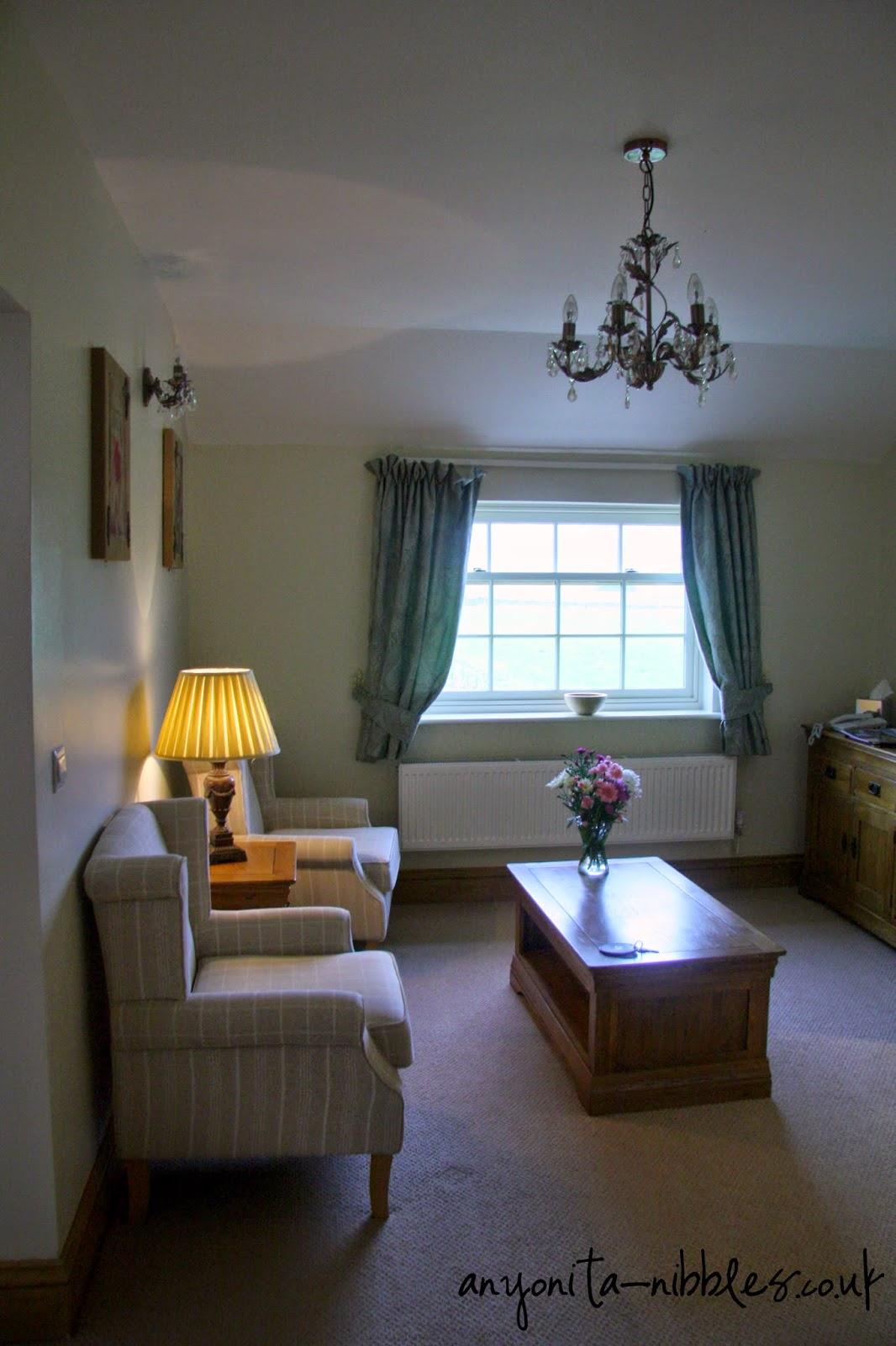LIving area of Helmsley 29 at Ox Pasture Hall Hotel | Anyonita-nibbles.co.uk