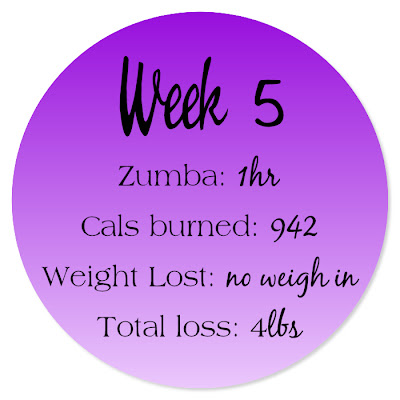 Week 5 | Weight Loss Diary