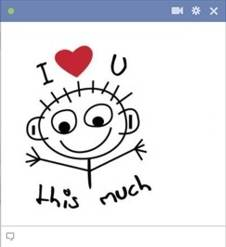 make your own lovely facebook emoticons