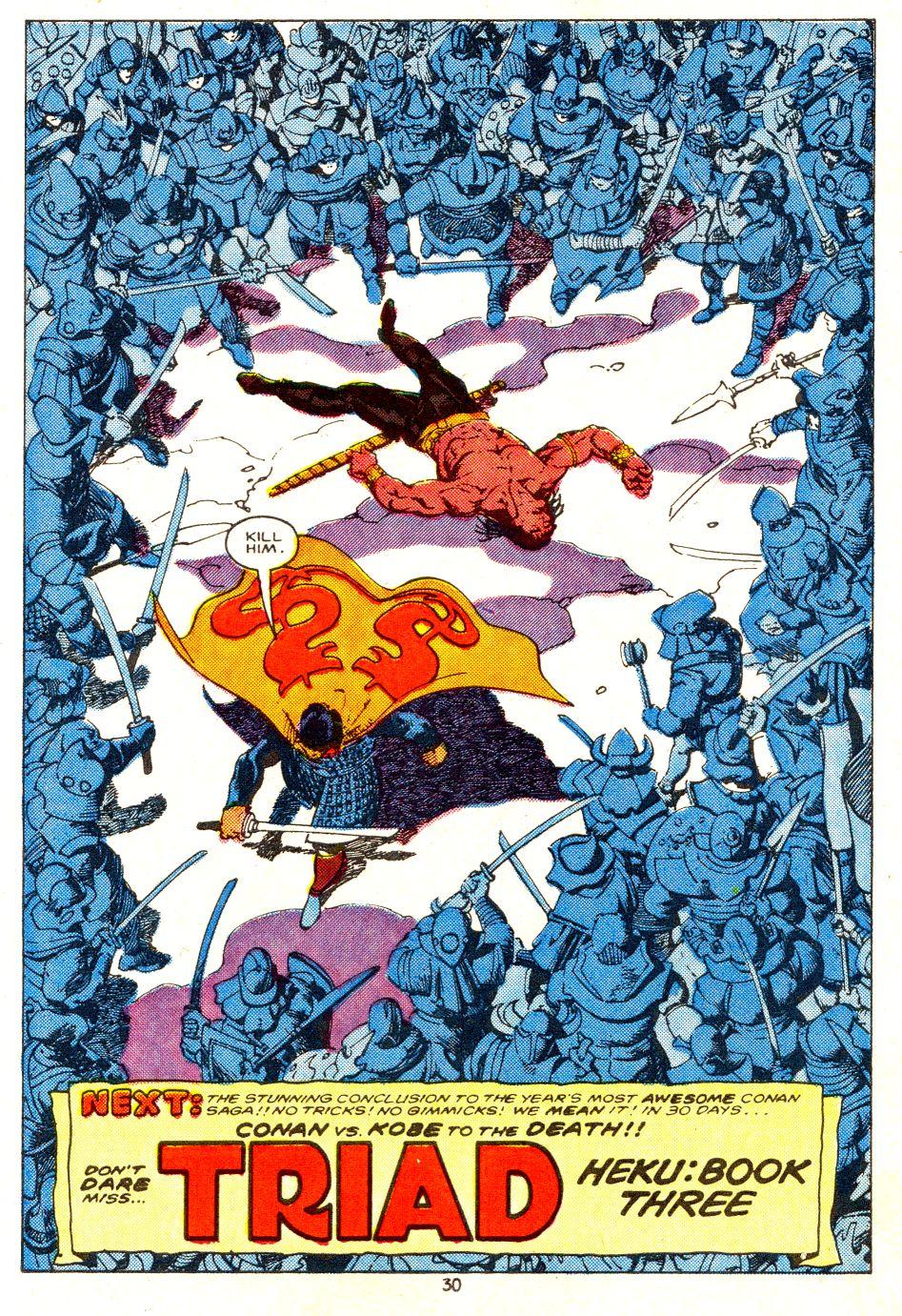 Conan the Barbarian (1970) Issue #207 #219 - English 23