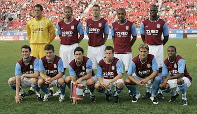 Aston Villa Team Soccer