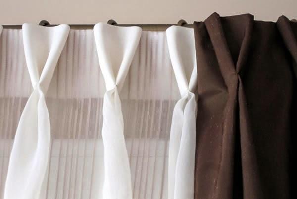 Novedades paola cortinas visillo con tablas y botones for Ganchos para cortinas de riel