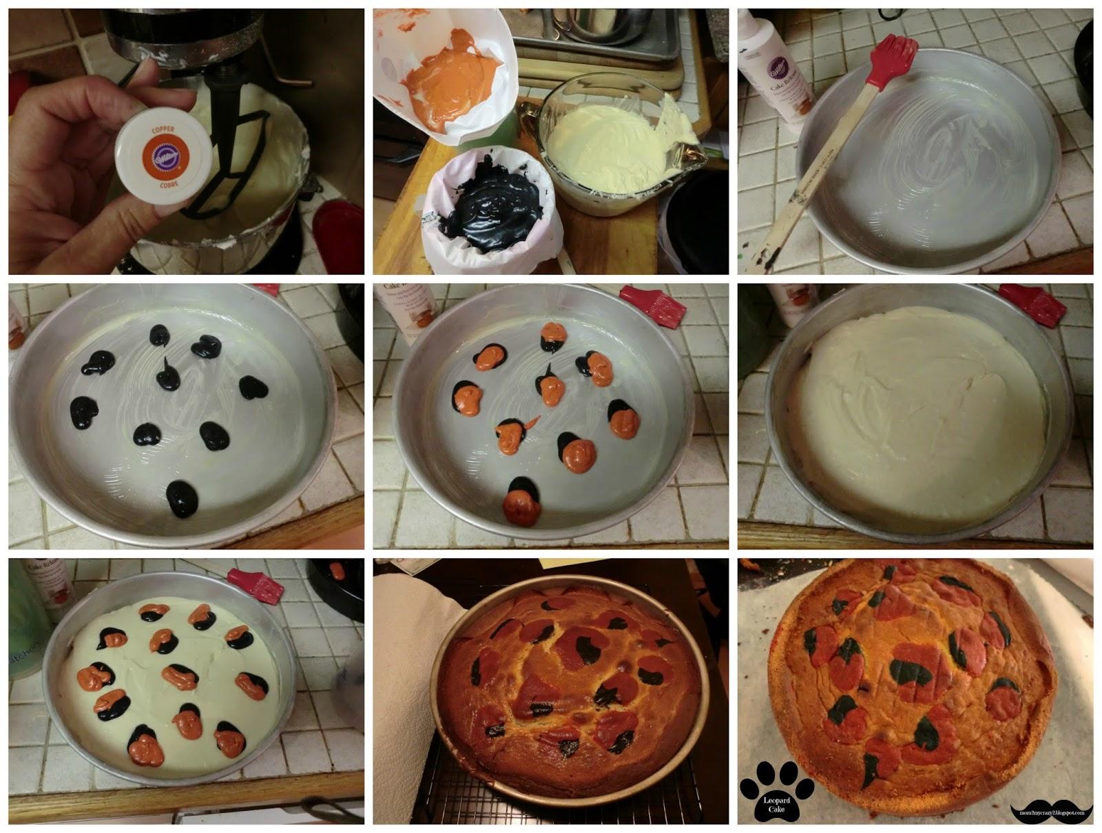 Leopard Print Inside Cake Recipe