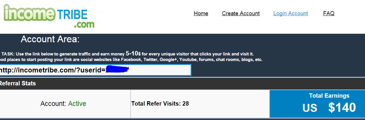 Jangan Percaya Kepada Situs incometribe.com