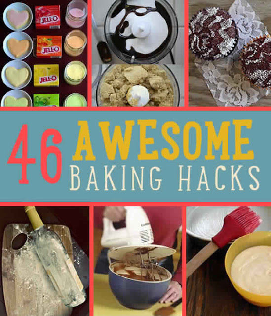 46 Awesome Baking Hacks