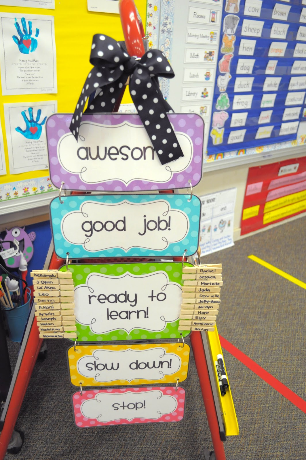 Classroom Management Ideas In Kindergarten ~ Mrs ricca s kindergarten classroom tour