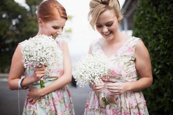Hunnah-Lea Tea Dress Bridesmaid