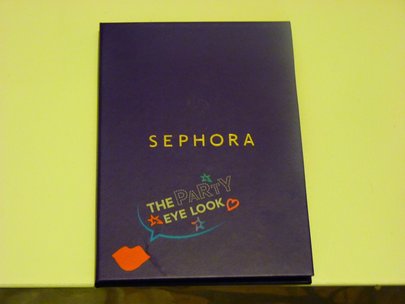 sephora, 4 eye look book, party, violet
