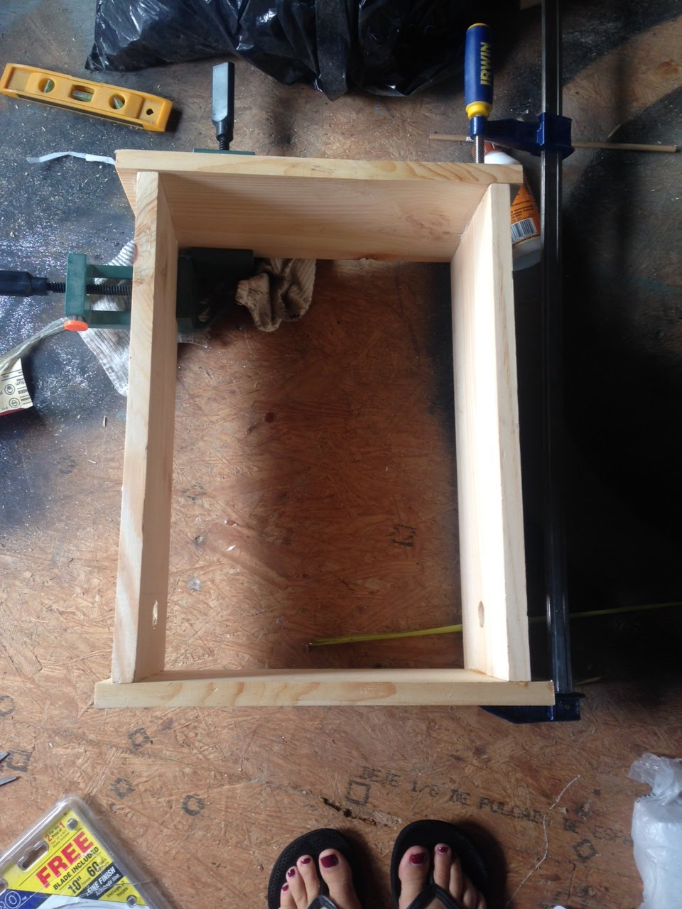 how to make a doll closet out of wood