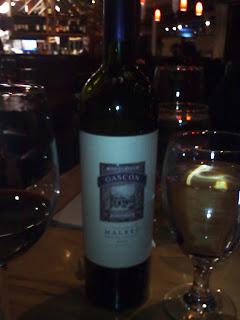 The Wine - a Gascon Malbec