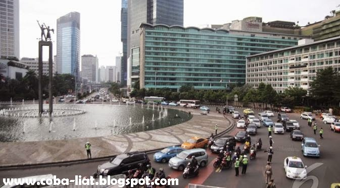 Jalan MH Thamrin dan Medan Merdeka Barat Kini Menjadi Jalanan Khusus Orang Kaya