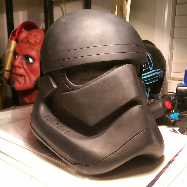 Star Wars: The Force Awakens stormtrooper helmet