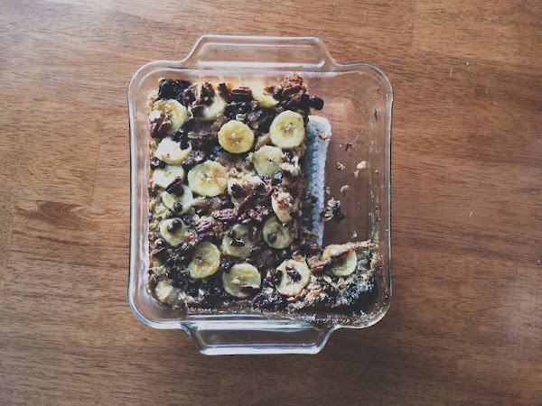 Baked Oatmeal + Prayer