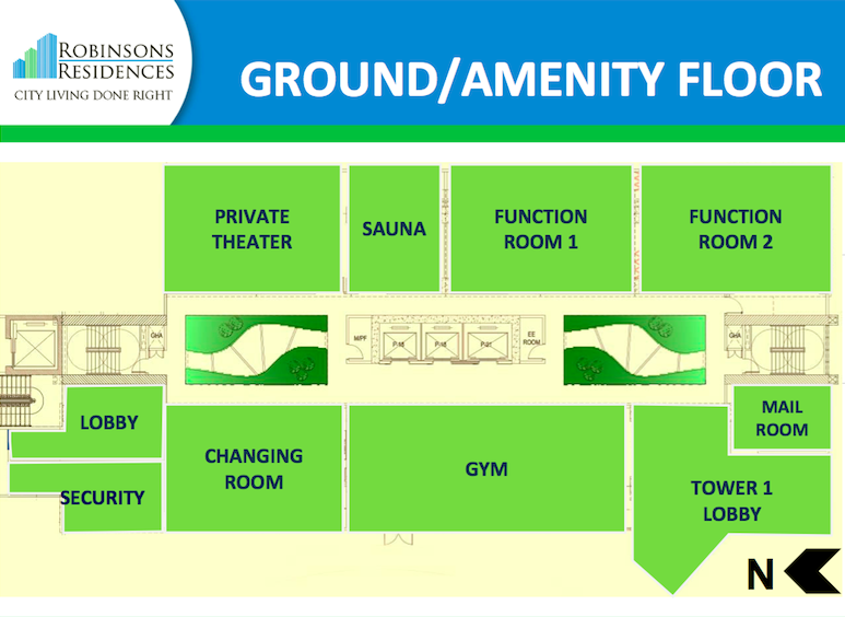 Delta Residences Davao - Ground / Amenity Floor
