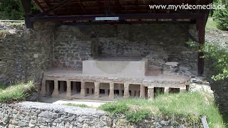 Roman bathtub Magdalensberg - Carinthia - Austria