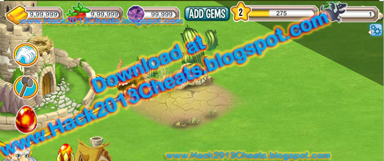 Dragon City Hack-Cheat Tool-Trainer Download Free