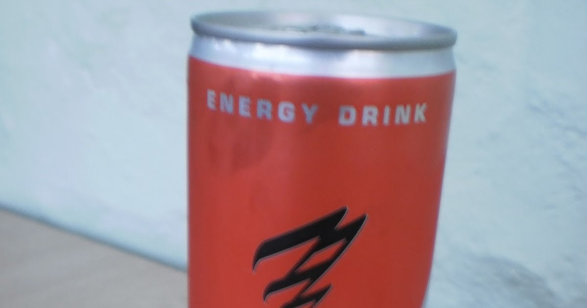Energy Drink Blind Taste Test