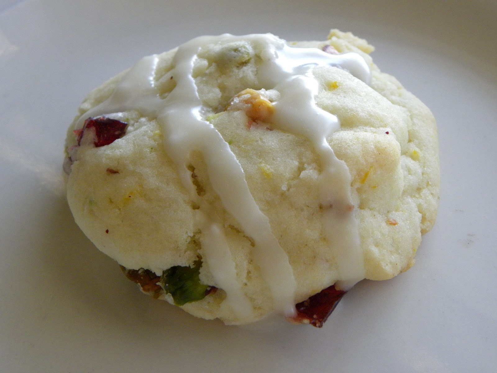 Pistachio Cranberry Cookies with Brown Butter (slightly salty, slighty ...