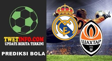 Prediksi Real Madrid vs Shakhtar Donetsk, UCL 16-09-2015