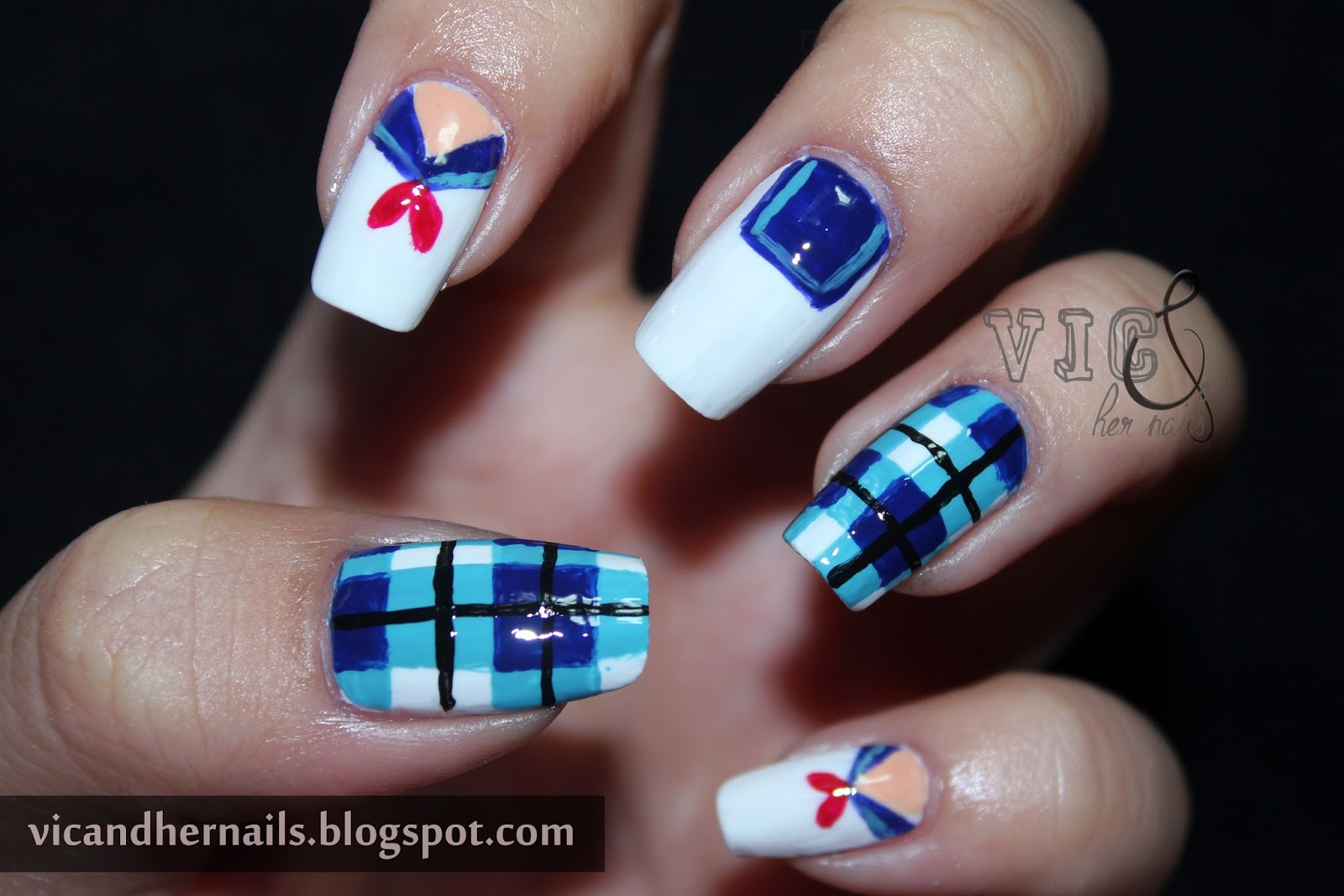 Vic and Her Nails: September N.A.I.L. - Theme 1: Back to School
