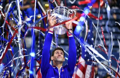 TENIS - Grand Slam US Open masculino 2015. Djokovic alza sus décimo Grand Slam tras una épica final ante Federer