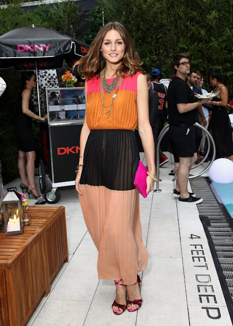 Olivia Palermo at The DKNY Sunglass Soiree In New York
