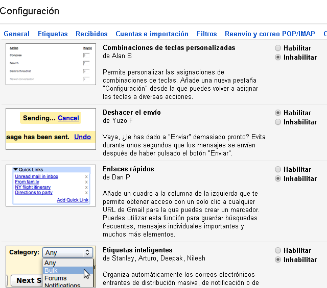 Uso de Gmail para recuperar correo electrónicos