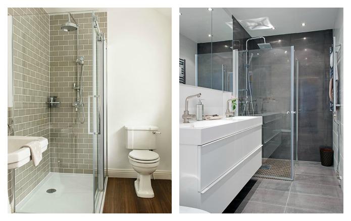 Cuartos de baño sin bañera: fotos de cuartos baño diseños con ...