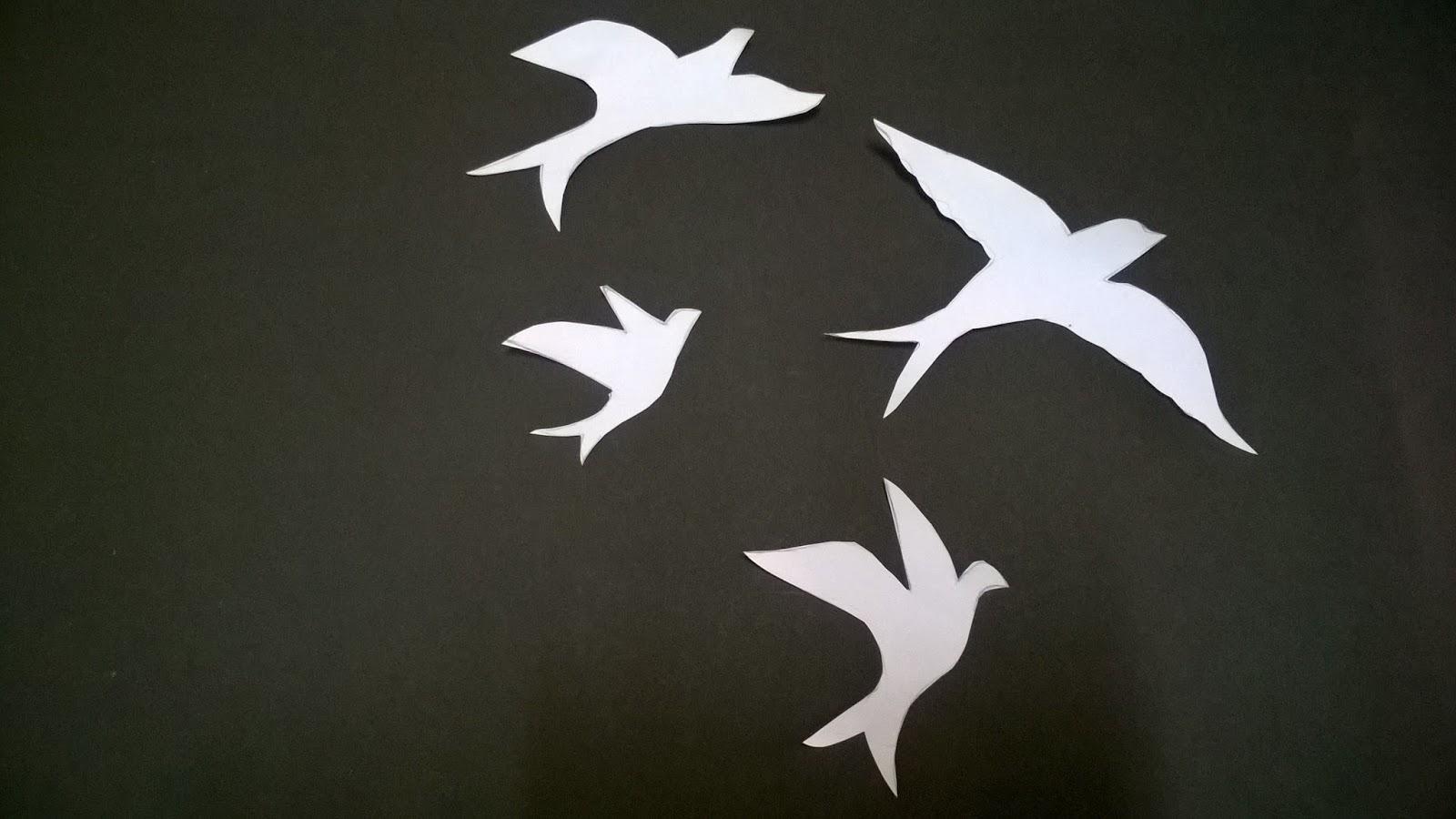 vinte dois outonos diy decoração estilo tumblr pássaros